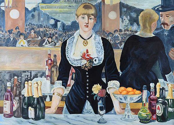 A BAR AT FOLIES BERGERE by After Edouard Manet at Ross's Online Art Auctions