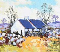 NEAR NEWCASTLE, COUNTY DOWN by Dennis Orme Shaw at Ross's Auctions