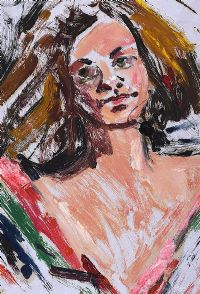 PORTRAIT OF A GIRL by Basil Rakoczi at Ross's Auctions