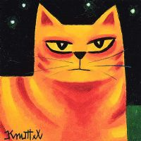 ORANGE CAT by Graham Knuttel at Ross's Auctions