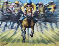 FULL SPEED AHEAD by Leo Casement at Ross's Auctions