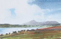 CROAGH PATRICK, COUNTY MAYO by Tom Smith at Ross's Auctions