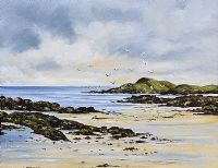 GWEBARRA COAST, DONEGAL by Edward McNulty at Ross's Auctions