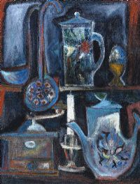 THE KITCHEN SIDEBOARD by Arthur Armstrong RHA RUA at Ross's Auctions