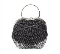BUTLER & WILSON BEADED COCKTAIL BAG at Ross's Jewellery Auctions