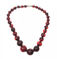 CHERRY AMBER STRAND at Ross's Jewellery Auctions
