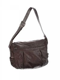 EMY VINTAGE BROWN LEATHER HANDBAG at Ross's Jewellery Auctions