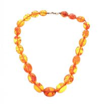 STRAND OF NATURAL AMBER BEADS at Ross's Jewellery Auctions