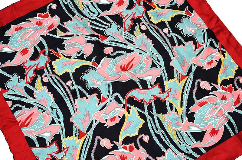 VINTAGE LIBERTY OF LONDON SILK SCARF at Ross's Online Art Auctions