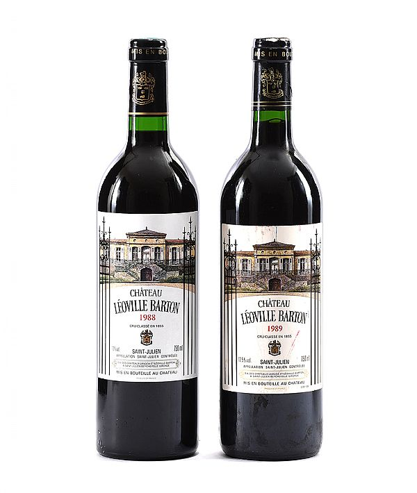 CHATEAU LEOVILLE BARTON 1998 & 1989 at Ross's Online Art Auctions