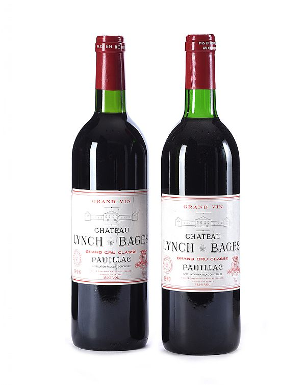 CHATEAU LYNCH-BAGES 1989 & 1998 at Ross's Online Art Auctions