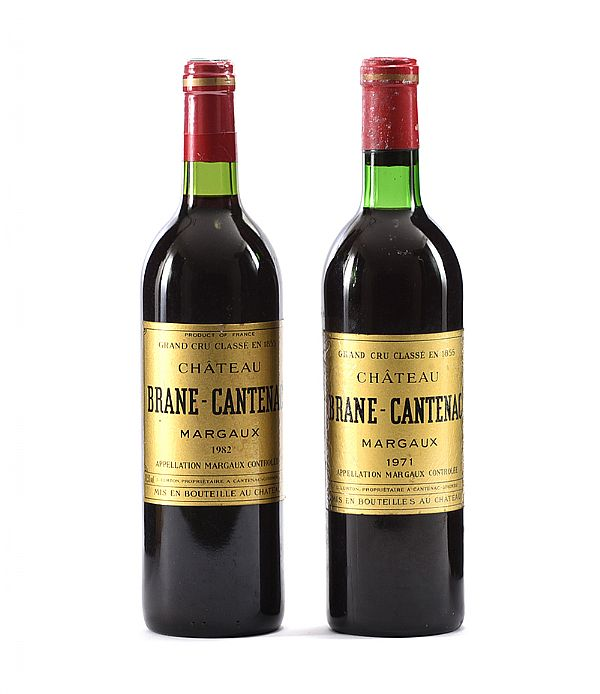 CHATEAU BRANE CANTENAC GRAND 1971 & 1982 at Ross's Online Art Auctions