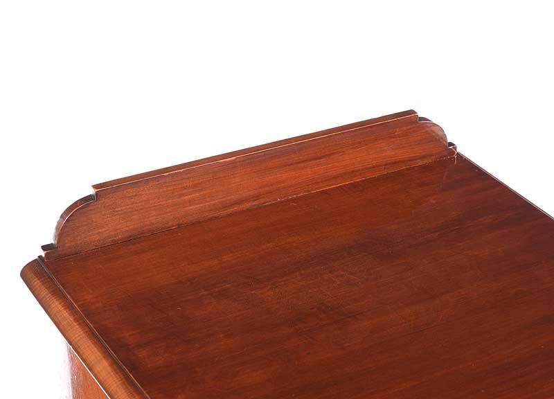 VICTORIAN MAHOGANY BEDSIDE PEDESTAL at Ross's Online Art Auctions