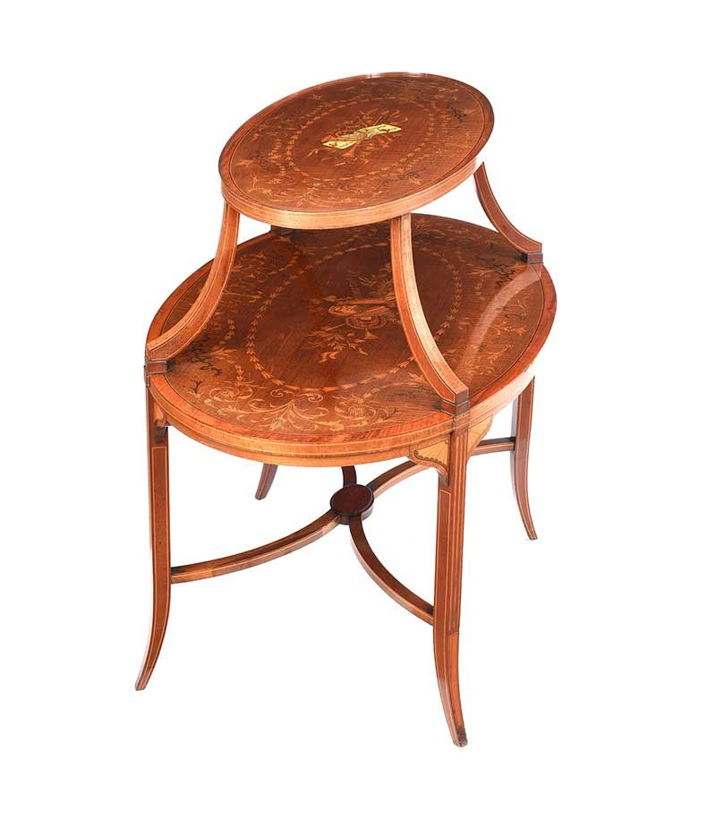 OVAL ETAGERE at Ross's Online Art Auctions