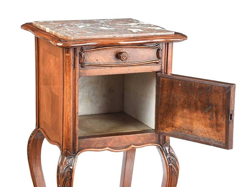BEDSIDE PEDESTAL at Ross's Online Art Auctions