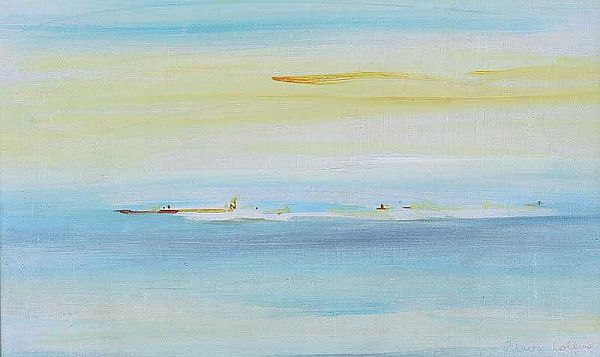 ISLANDS by Patrick Collins HRHA at Ross's Online Art Auctions
