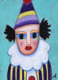 MARKEY THE CLOWN by Annie Robinson at Ross's Auctions