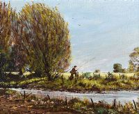MONEYCARRA RIVER, DUNDRUM by David Overend at Ross's Auctions
