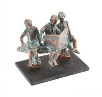 BROTHERS & SISTER by Irish School at Ross's Auctions