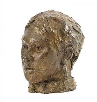 HEAD OF A YOUNG MAN by Hilary Bryson at Ross's Auctions