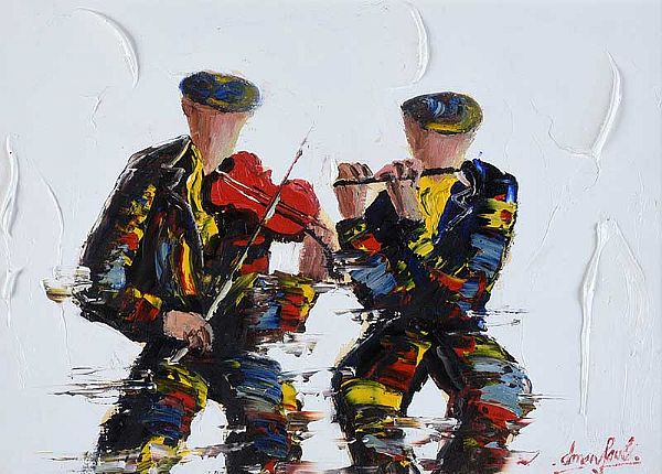 THE DUET by Darren Paul at Ross's Online Art Auctions