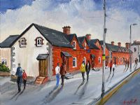 PEMBROKE COTTAGES, DUNDRUM by Darren Paul at Ross's Auctions