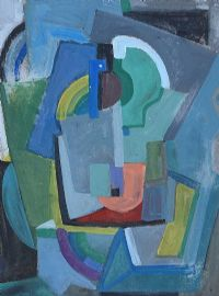CUBIST COMPOSITION by Evie Hone HRHA at Ross's Auctions