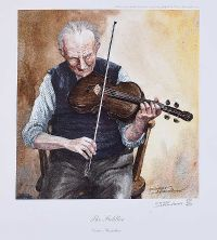 THE FIDDLER by Conor Hamilton at Ross's Auctions