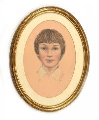 PORTRAIT OF WENDY by Phyllis Arnold UWA MSM at Ross's Auctions