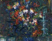 FLOWER ARRANGEMENT by John Gerard Keogh at Ross's Auctions
