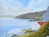 KENBANE HEAD, COUNTY ANTRIM by T. Nicholl at Ross's Auctions