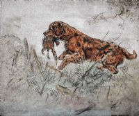 THE GUN DOG by Henry Wilkinson at Ross's Auctions