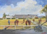 LEOPARDSTOWN RACE COURSE by Darren Paul at Ross's Auctions