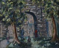 ST STEPHEN'S GREEN, DUBLIN by Gladys Maccabe HRUA at Ross's Auctions