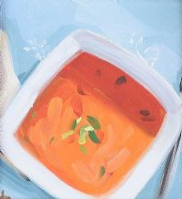 CARROT & BASIL SOUP by David Nolan at Ross's Auctions