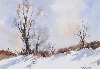 WINTER LANDSCAPE by Danny Todd at Ross's Auctions