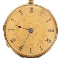18CT GOLD POCKET WATCH at Ross's Jewellery Auctions