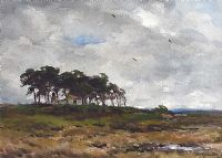 WINDSWEPT TREES by Wycliffe Egginton RI RCA at Ross's Auctions