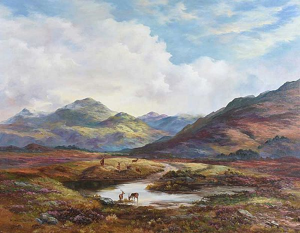 NEAR RANNOCK by Prudence Turner at Ross's Online Art Auctions