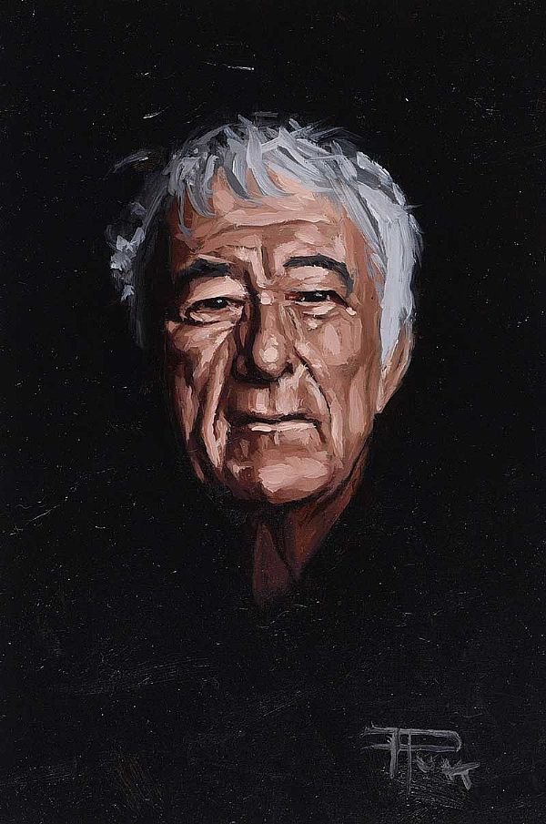 SEAMUS HEANEY by Thomas Putt at Ross's Online Art Auctions