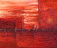 RED SUNSET by Kim Crawford at Ross's Auctions