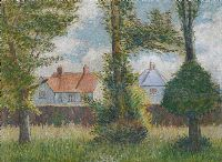 VIEW FROM THE PARK by Seamus Stoupe at Ross's Auctions