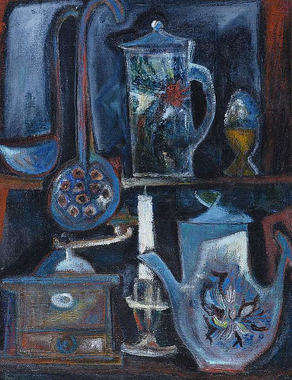 THE KITCHEN SIDEBOARD by Arthur Armstrong RHA RUA at Ross's Online Art Auctions