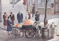 DAN'S STALL by Henry Echlin Neill RUA at Ross's Auctions