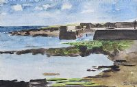 THE BOAT SLIP by Elsie Nevill at Ross's Auctions