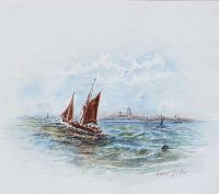 OUT SAILING by William H. Telford at Ross's Auctions