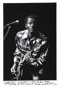 CHUCK BERRY, LONDON 1988 by John Minihan at Ross's Auctions