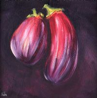 DARK AUBERGINE by David Nolan at Ross's Auctions