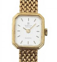 MARVIN REVUE 9CT GOLD LADY'S WRIST WATCH at Ross's Auctions