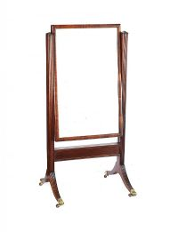 REGENCY CHEVAL MIRROR at Ross's Online Art Auctions